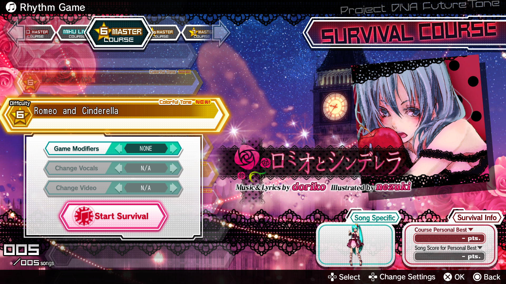 Web Manual Hatsune Miku Project Diva Future Tone Switch Beside The Pot Is Used To Be Able Off All And Press Confirm